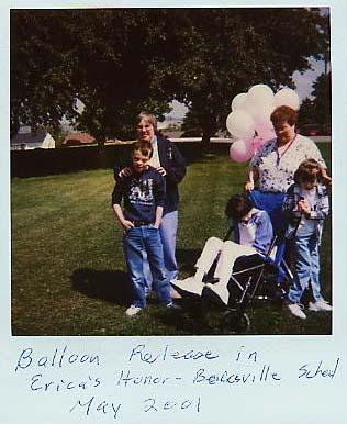 Erica Balloon Release