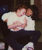 Erica Bayliss with Teacher