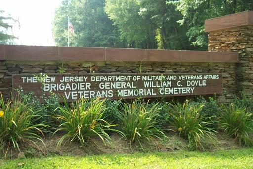 Juanita Polyak interned at Brigadier General William C. Doyle Memorial Cemetery Wrightstown NJ.